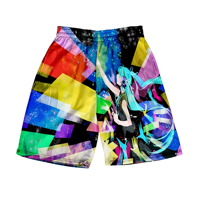 Hatsune Miku Rainbow Color Fusion Vocaloid  Shorts