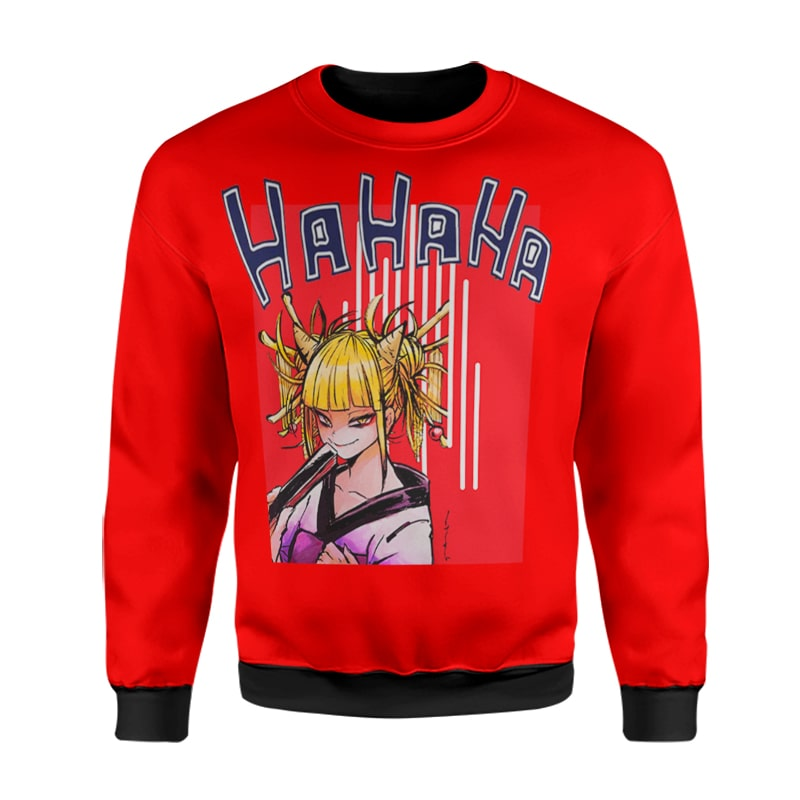 My Hero Academia Himiko Toga Cool Evil Laugh BNHA Sweatshirt