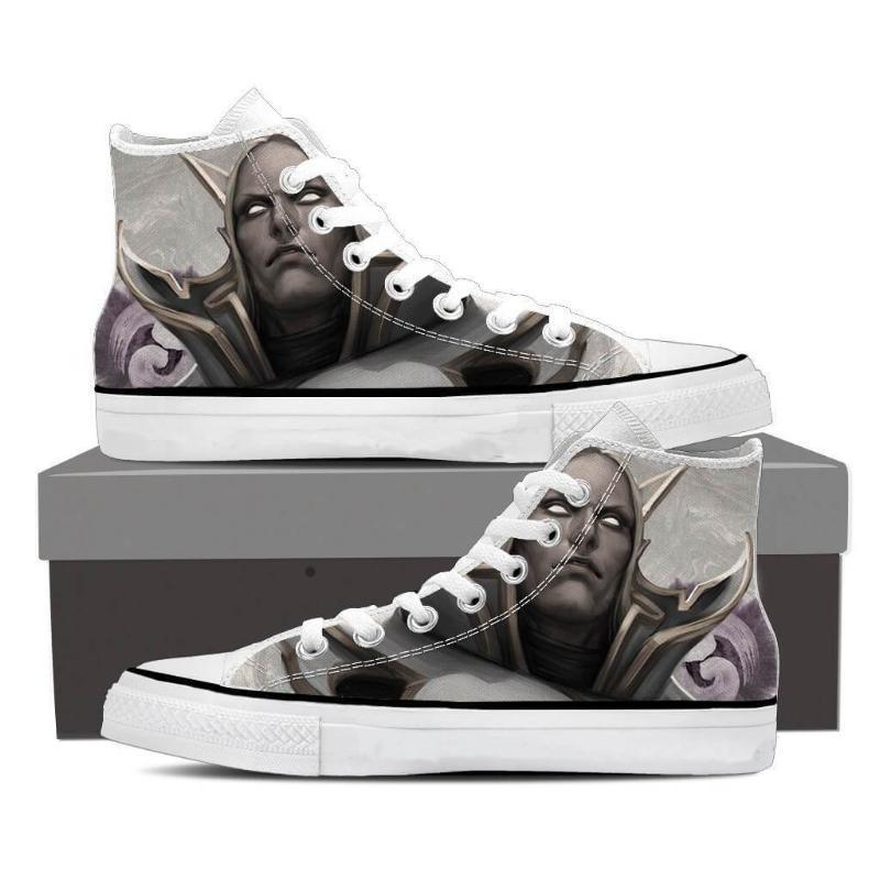 Invoker Black And White Invoker Shoes - Anime Wise