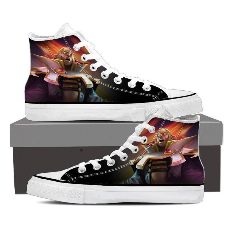 Invoker Black Invoker Shoes - Anime Wise
