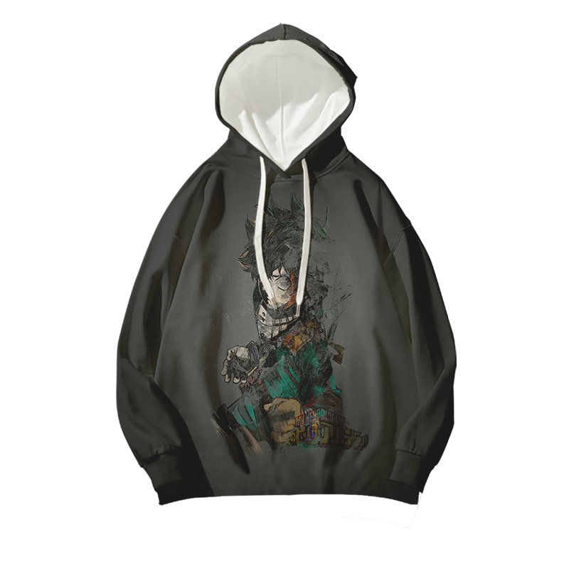 My Hero Academia Izuko Midoriya Shattered Pieces One For All BNHA Hoodie