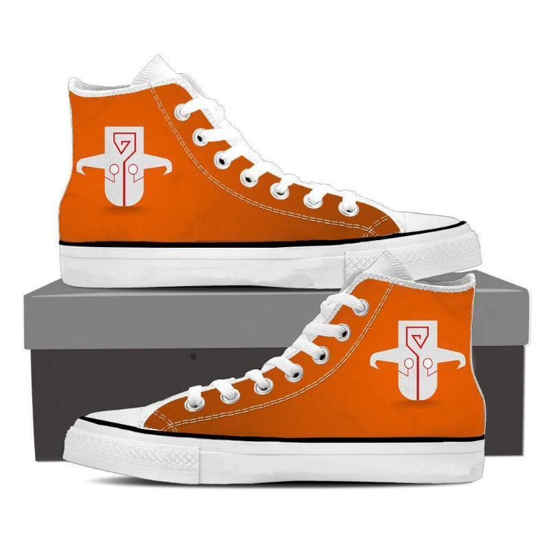 Juggernaut Orange Logo Juggernaut Shoes - Anime Wise
