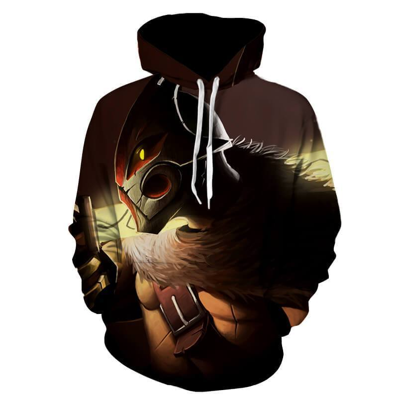 Juggernaut The Boar God's Honor 3D Printed Juggernaut Hoodie