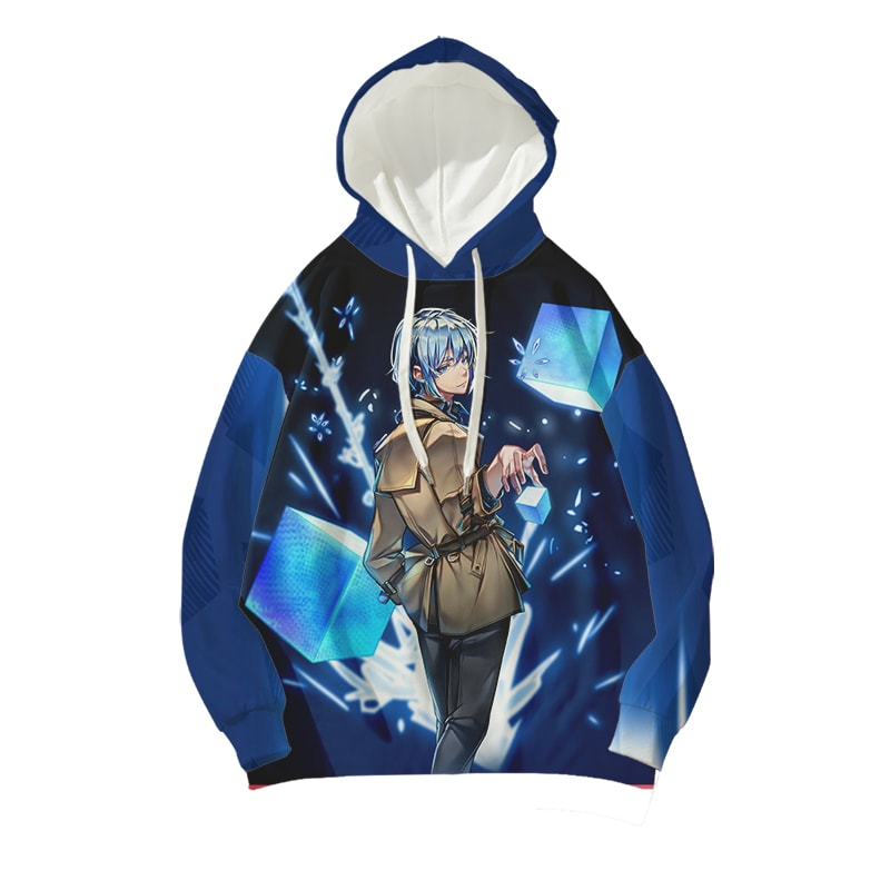Khun Aguero Agnes Icy Cool Look Tower of God Hoodie