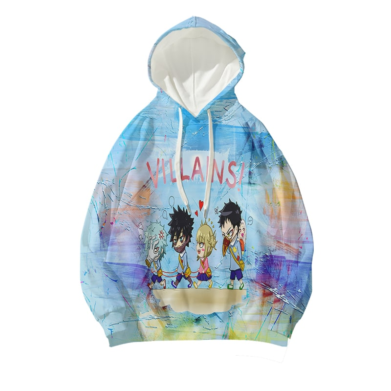Himiko Toga Dabi Crazy League Of Villains BNHA Hoodie