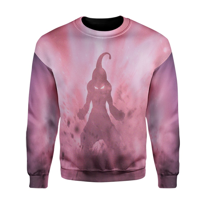 Majin Evil Super Boo Storm Cool Stand Dragon Ball Sweatshirt
