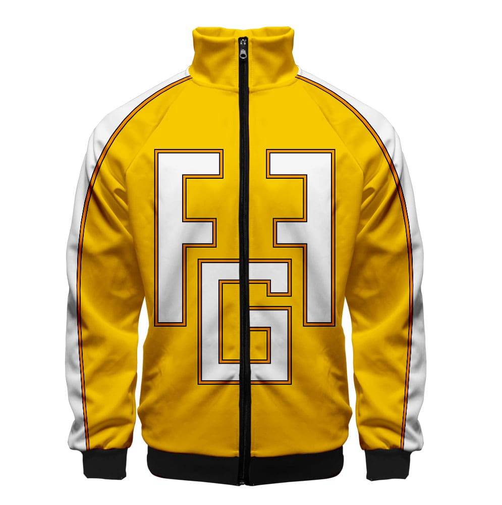 My Hero Academia Classic Yellow Color Swap  BNHA Hoodie Jacket