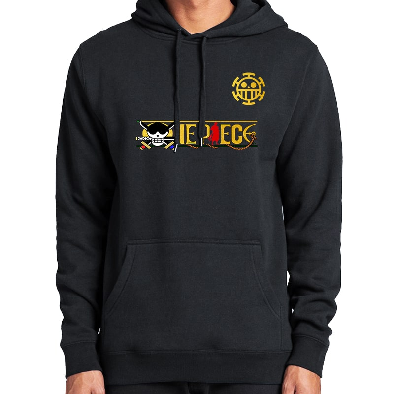 One Piece Floral Crossover Cool Classic One Piece Hoodie