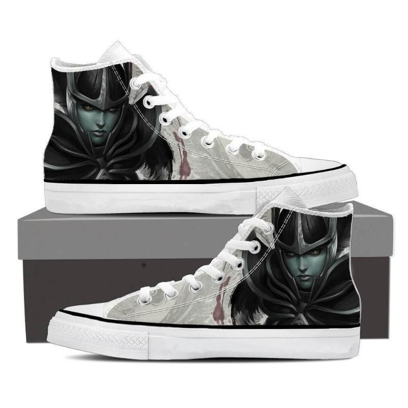 Phantom Assassin Black Phantom Assasin Art Phantom Assassin Shoes - Anime Wise
