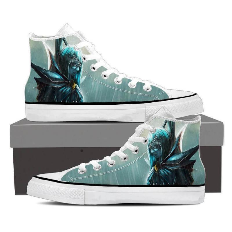 Phantom Assassin Cool Art Phantom Assassin Shoes - Anime Wise