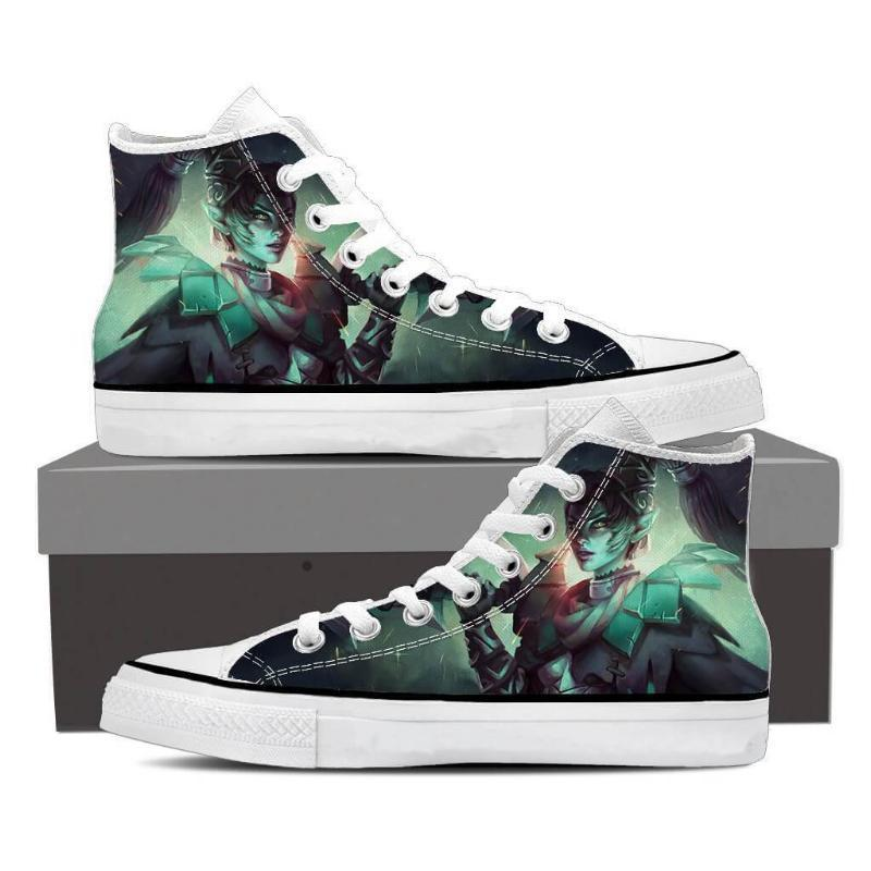 Phantom Assassin Dame de Carreau Phantom Assassin Shoes - Anime Wise
