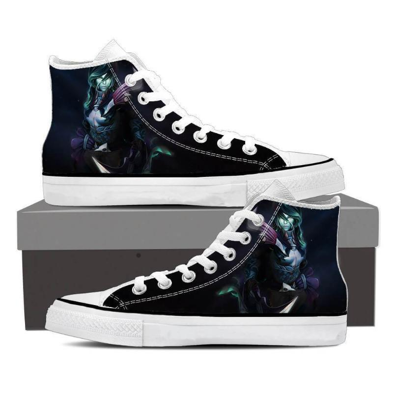 Phantom Assassin Toll of the Fearful Aria Phantom Assassin Shoes - Anime Wise