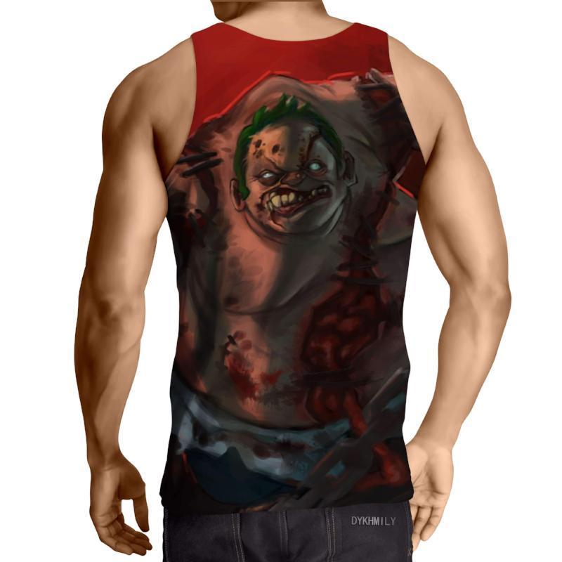 Pudge Cool Art 3D Printed Pudge Tank Top - Anime Wise