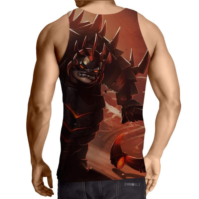 Pudge Scavenger of the Basilisk 3D Printed Pudge Tank Top - Anime Wise
