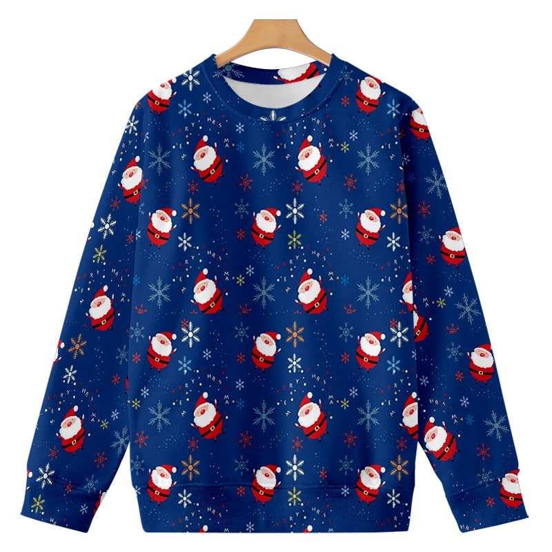 Santa Christmas Minions Cool Stars Dream Space Sweatshirt