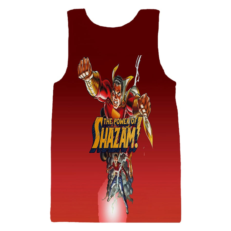 Shazam The Power Duo Cool Swag Tank Top