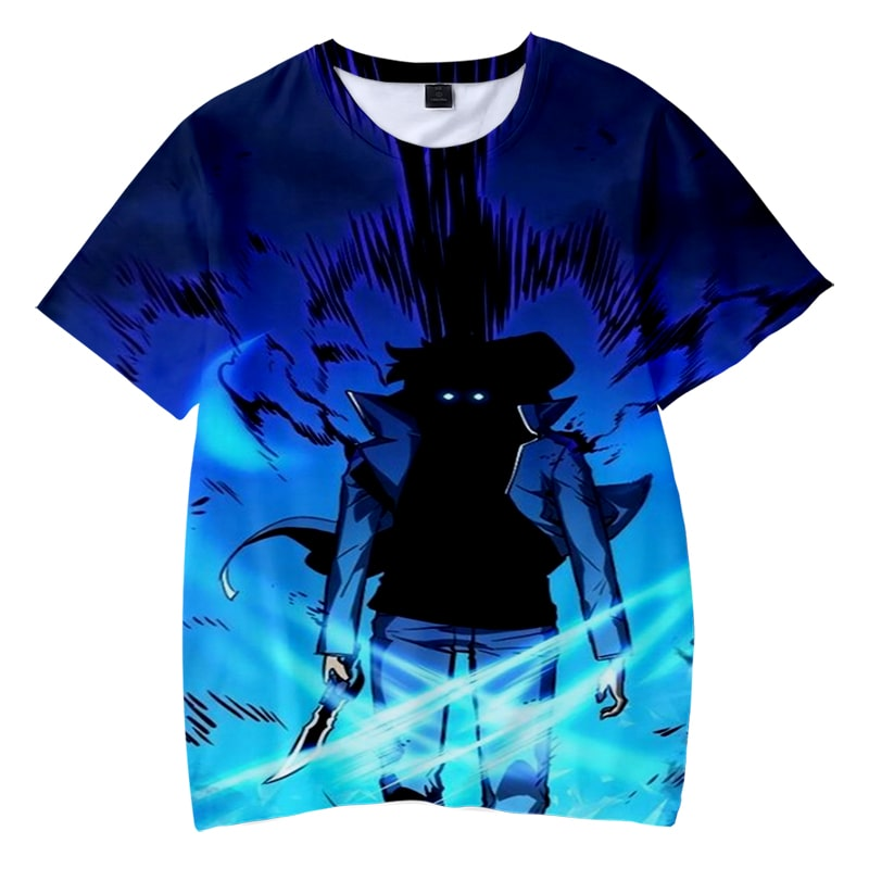 Tower of God Solo Leveling Twenty Fifth Bam Storm Kami no Tou T-Shirt