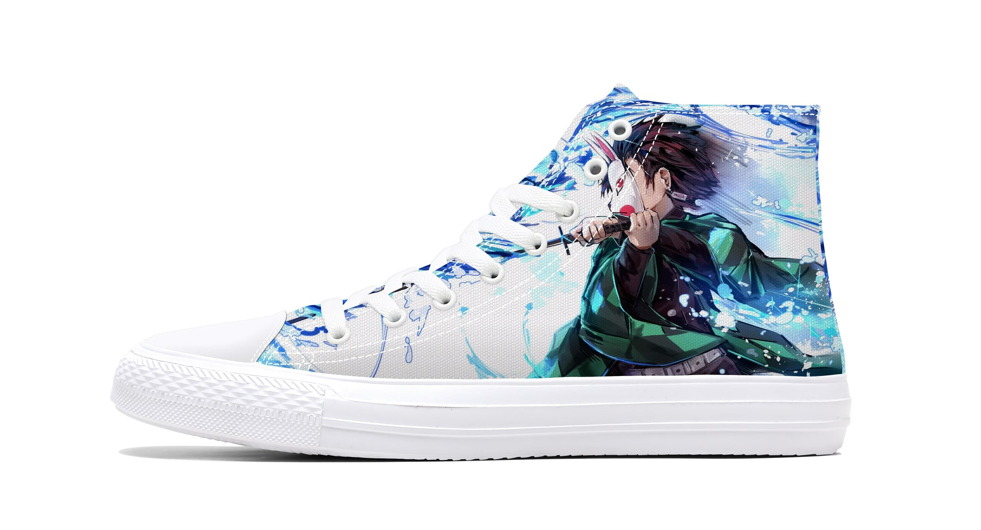 Tanjiro Kamado Water Breathing Dragon Sneakers Demon Sneaker Demon Slayer Kimetsu No Yaiba Shoes