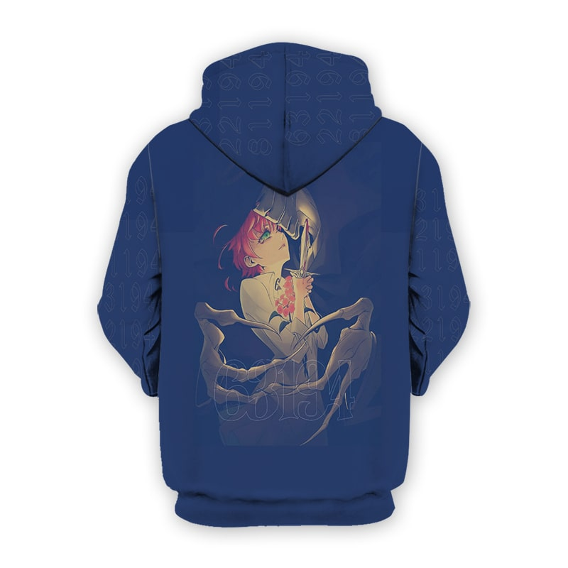 The Promised Neverland Pointing Knife Minerva Emma Promised Neverland Hoodie