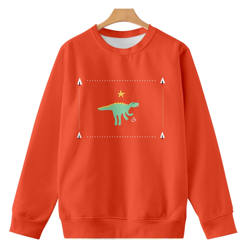 Tinasaurus Love Sweat Brushed Cool Animalistic Sweatshirt