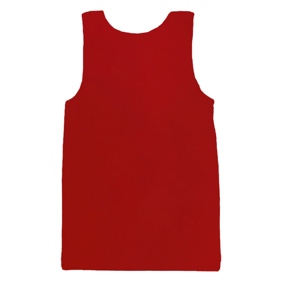 The Power Of Shazam Lightning Red Style Tank Top