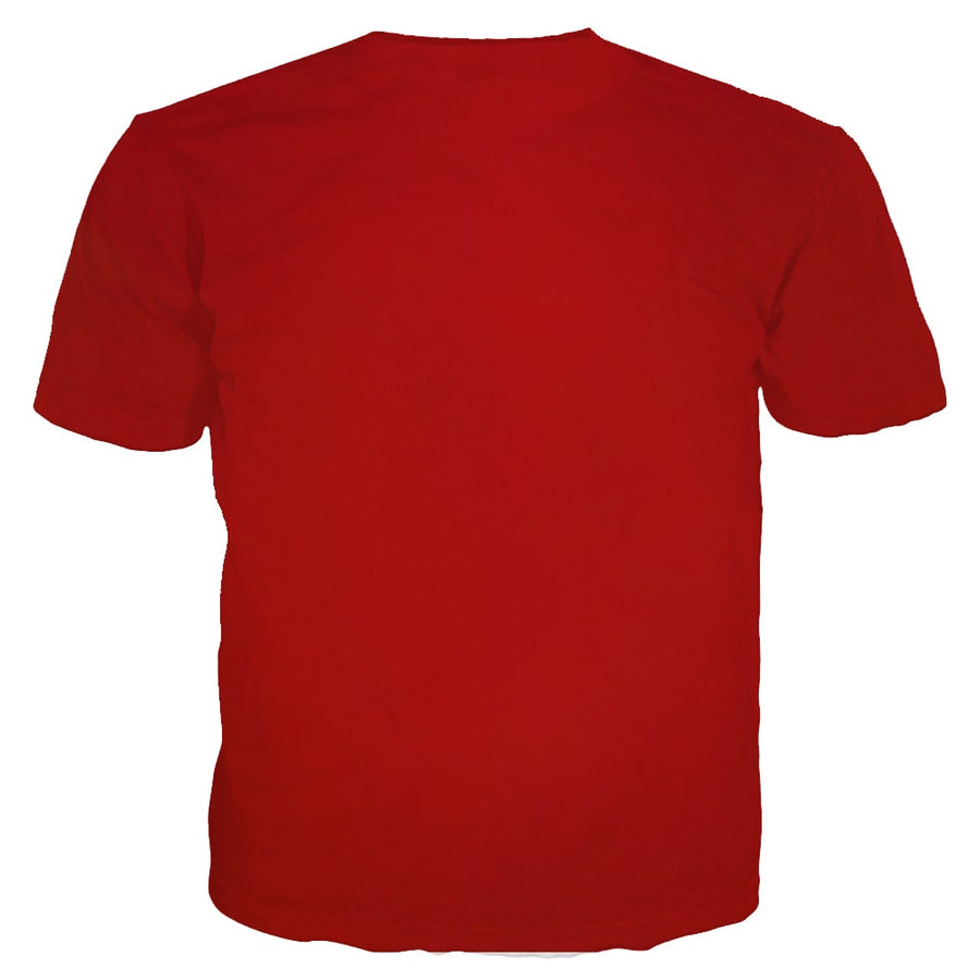 The Power Of Shazam Lightning Red Style T-Shirt