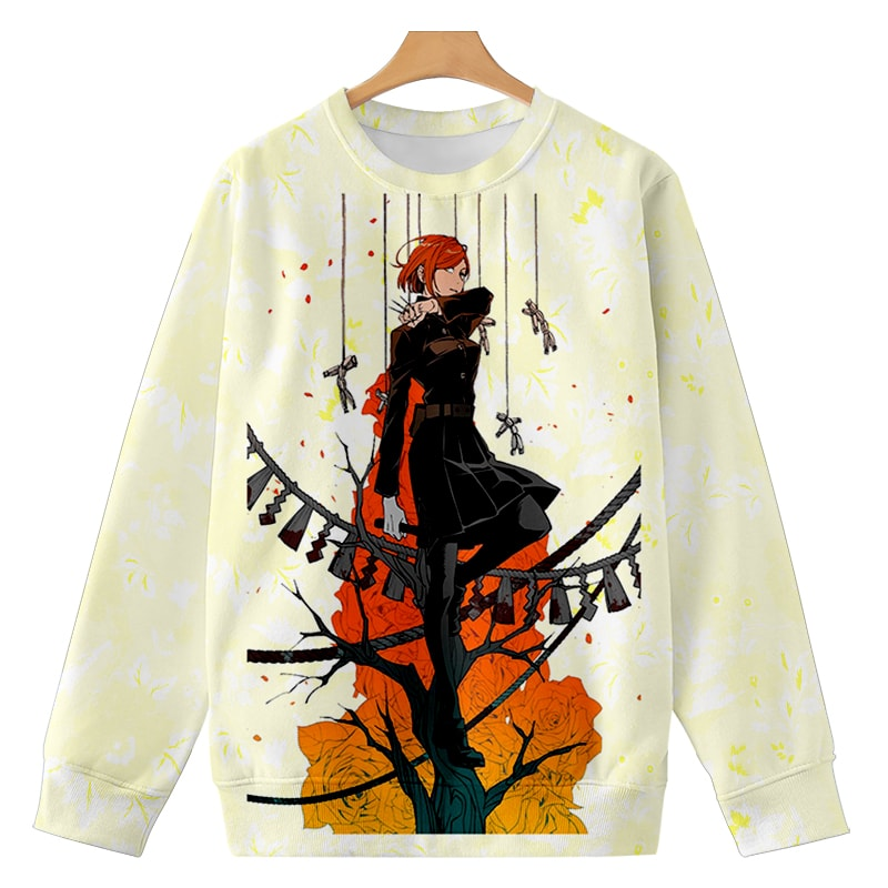 Nobara Kugisaki  Dream Space Hammer Thread Jujutsu Kaisen Sweatshirt