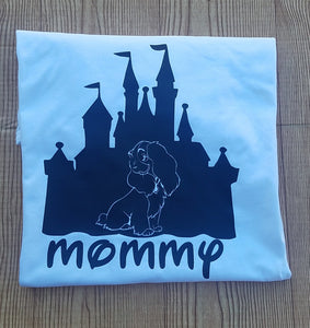 Lady and the Tramp Castle t- shirt