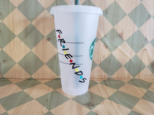 Friends Sitcom Starbucks cup