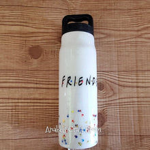 Friends umbrella glitter Tumbler