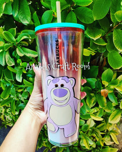 Lotso, Toy Story watermelon Starbucks cup