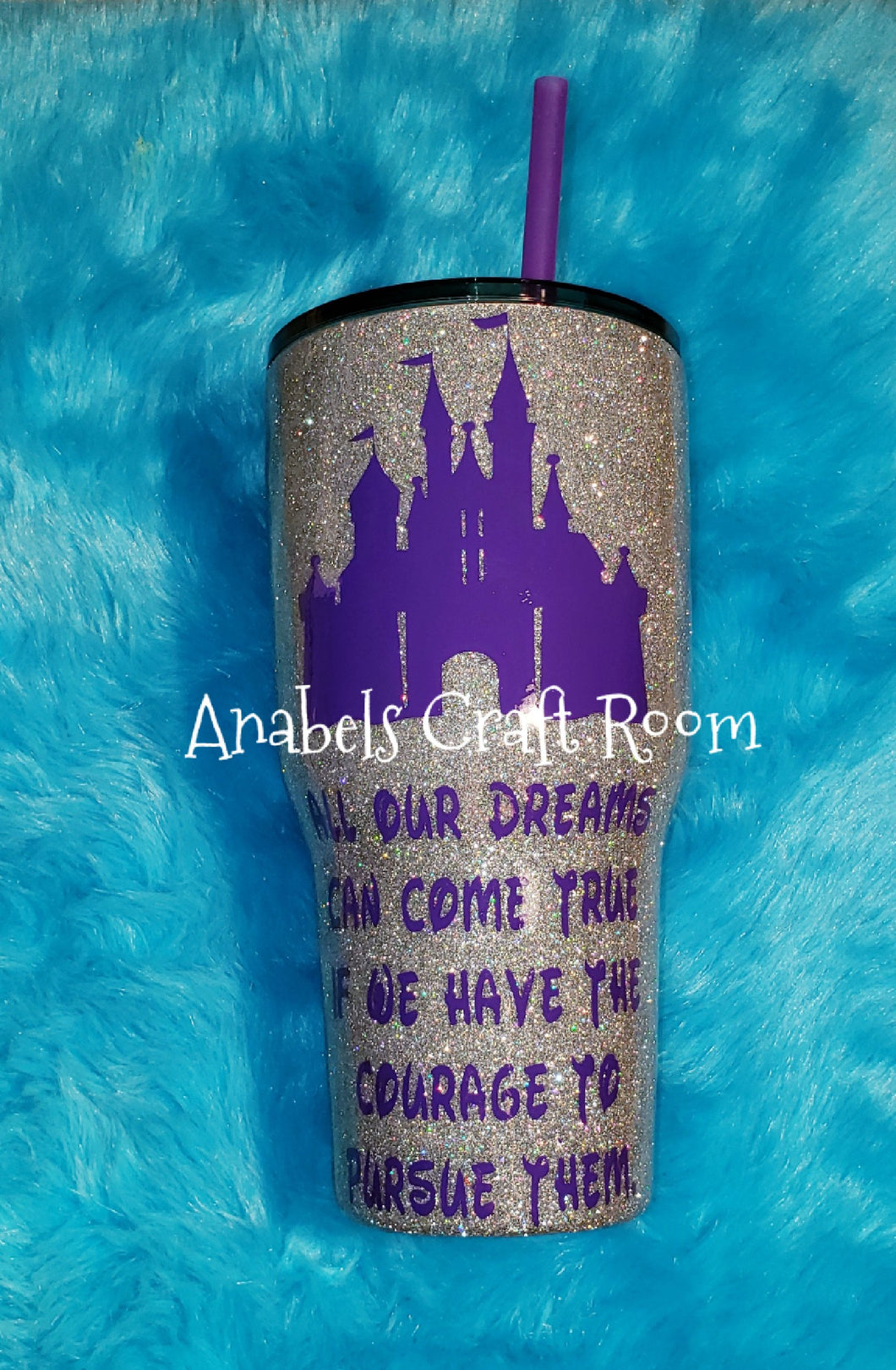 Disney Castle with quote