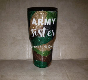 30oz Custom Army Tumblers