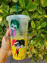 Batman and Robin Starbucks reusable cup