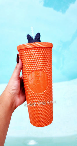 Starbucks Studded Tumbler Orange