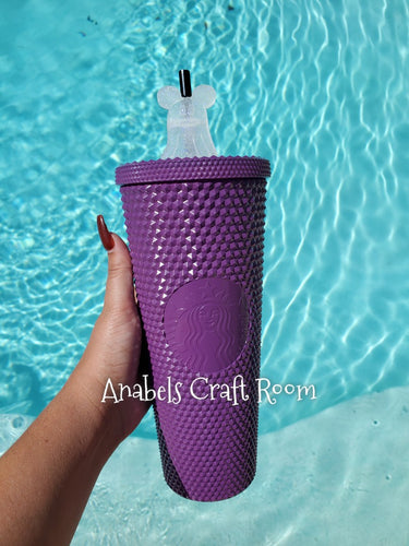 Starbucks purple studded tumbler