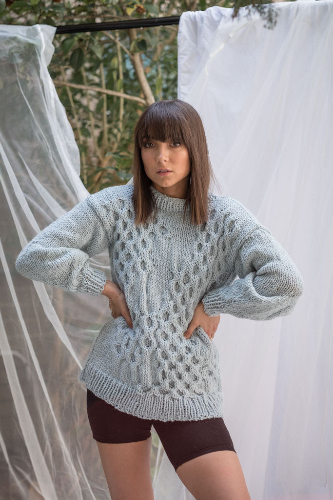 The Melting Honeycomb Sweater