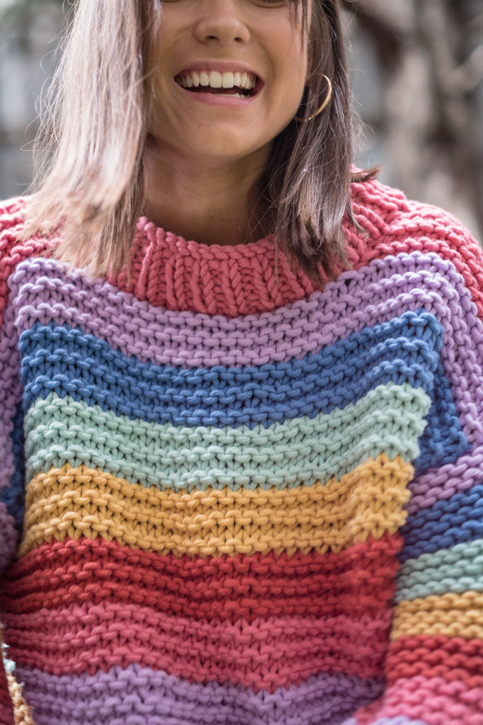 The Rainbow Sweater