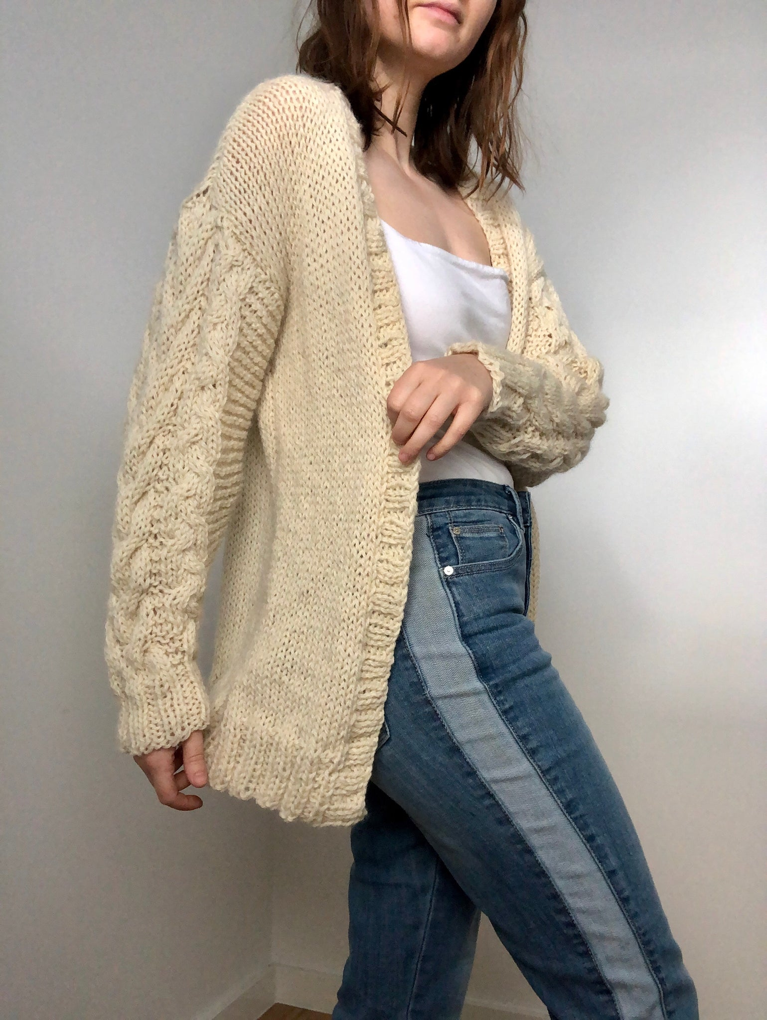 The Cable Cardigan