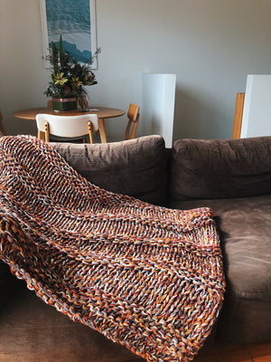 The Zero Waste Lounge Blanket