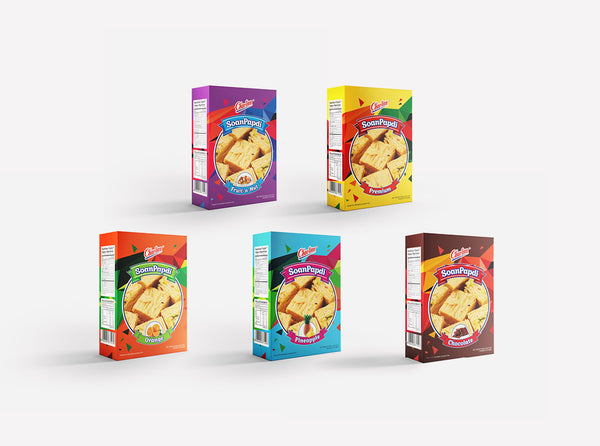 Soan Papdi Collection 5 Packs