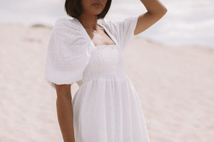 EMBROIDED HALE DRESS