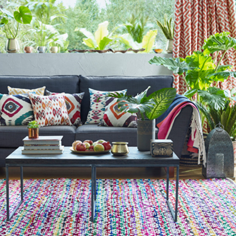 Use Colors & Textures for your boho home