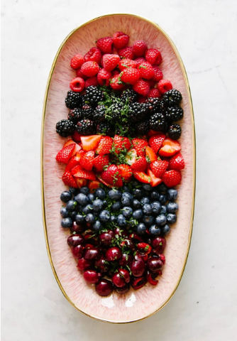 Fruits on a Charcuterie Board