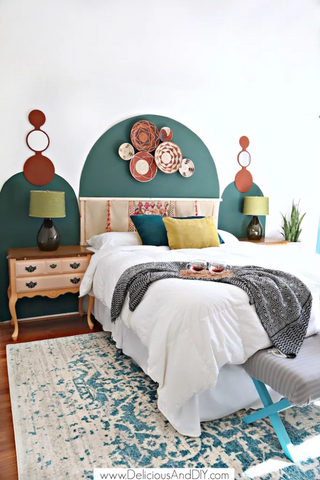 Painted Arches home decor trend