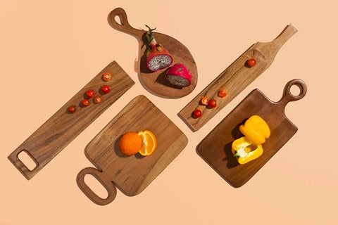 Teak Wood Charcuterie Boards by The Artisen