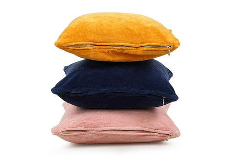 Use Velvet Cushions to Add a Smooth Texture to Your Interior Design