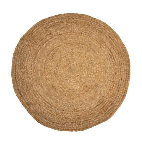 Round Jute Rug you can use as Wall Decor by The Artisen