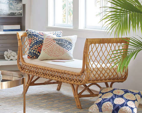 Wicker and Rattan furniture pieces