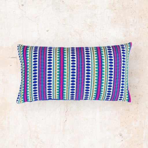 Blue Capsule Cushion 14x20 inch Cushion - The Artisen